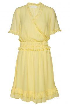Posestelle Dress Kurzes Kleid Gelb POSTYR(114163482)