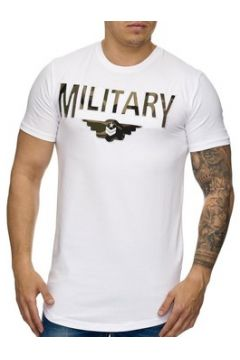 T-shirt Cabin Tee shirt homme Military Tee shirt 947 blanc(115398202)