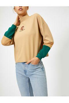 Koton Kadın Islemeli Sweatshirt(117893382)