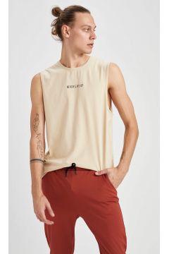 DeFacto Erkek Slim Fit Kolsuz Spor Sweatshirt(125928567)