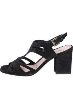 Sandales Maria Cristina sandales noir daim BZ138(115393931)