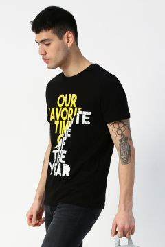 Limon Siyah T-Shirt(123369496)