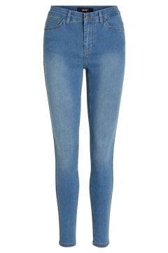 OBJECT COLLECTORS ITEM Stretchiga Skinny Fit-jeans Kvinna Blå(109107207)