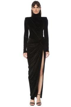 Alexandre Vauthier Kadın Siyah Sim Dokulu Maxi Abiye Elbise 42 IT(123840825)