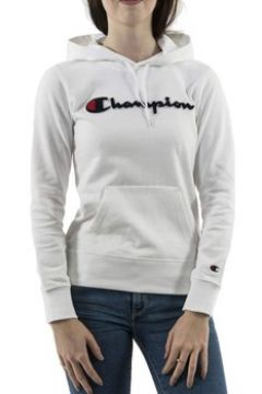 Sweat-shirt Champion FELPA CON CAPPUCCIO BIANCA(115515727)