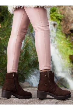Brown - Boot - Boots - Deripabuç(110313462)