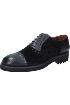 Chaussures Alexander élégantes noir daim cuir BY448(115393801)
