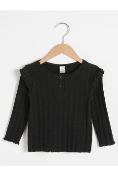 Bebek Kız Bebek Basic Tişört(127690786)