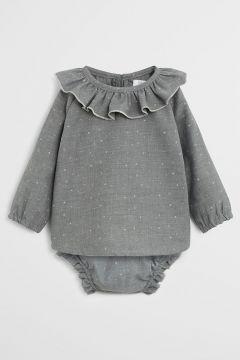 Mango Kids - Body niemowlęce Noche 62-80 cm(114346233)