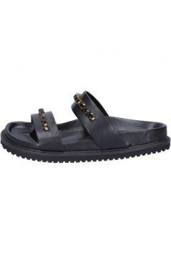 Sandales Twin Set TWIN-SET sandales noir cuir BT449(98539250)