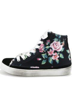 Baskets enfant 2 Stars sneakers noir textile daim AG547(115392855)
