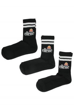 Ellesse Pullo 3 Pack Socks (6 - 8.5 ) zwart(96240616)