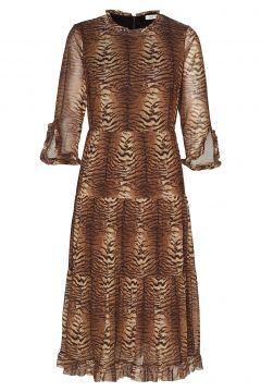Dress Kleid Knielang Braun SOFIE SCHNOOR(114165483)