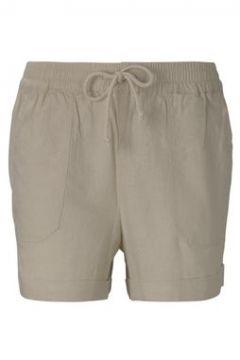 TOM TAILOR DENIM Damen Relaxed Shorts mit elastischem Bund, beige, Gr.XL(116780416)