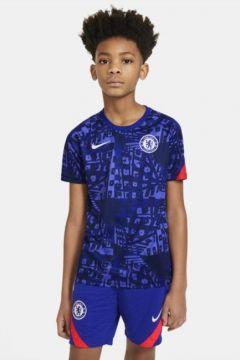 Chelsea FC Kısa Kollu Genç Çocuk Maç Öncesi Futbol Üstü(122298883)