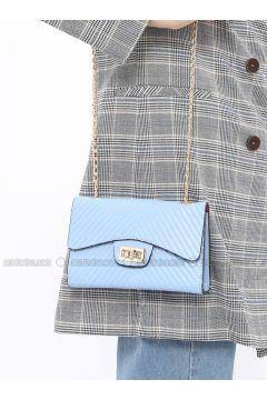 Blue - Shoulder Bags - ironstone(110327825)