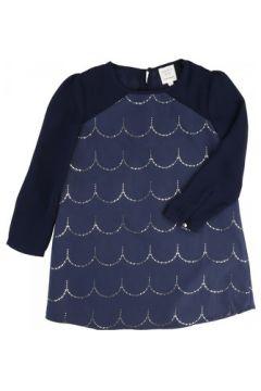 Robe enfant Carrement Beau Robe manches longues bleue(98529184)