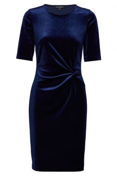 Dress Kleid Knielang Blau ILSE JACOBSEN(114163862)