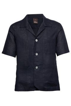 Hanks Reg Shirt Wash Hemd Business Blau OSCAR JACOBSON(119950263)