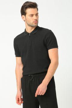 Fabrika Siyah Erkek Polo T-Shirt(113996126)