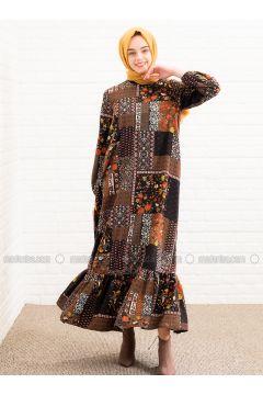 Khaki - Multi - Dresses - Lysa Studio(110336170)