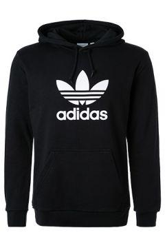 adidas ORIGINALS Trefoil Hoodie black DT7964(123190514)