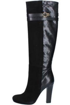 Bottes Del Gatto bottes noir daim cuir AK938(115443132)