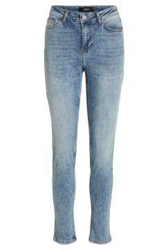 OBJECT COLLECTORS ITEM Beskurna Straight Fit-jeans Kvinna Blå(109260632)