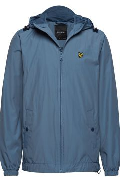 Zip Through Hooded Jacket Dünne Jacke Blau LYLE & SCOTT(114156069)