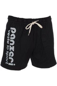 Short Panzeri Uni a noir jersey shor(127854415)
