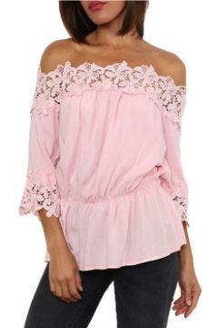 Tunique Cendriyon Tuniques Rose Vêtements Femme(115425202)