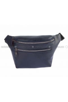 Navy Blue - Satchel - Bum Bag - Housebags(110339762)