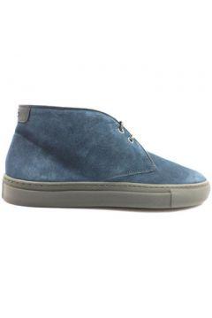 Chaussures Alberto Guardiani bottines bleu daim zx617(115395261)