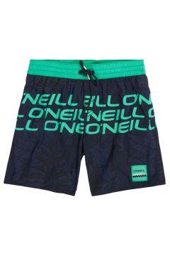 O\'Neill Stacked Jungen Badeshorts - Blue Aop Green(110365492)