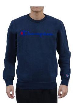 Sweat-shirt Champion Felpa Girocollo Blu(115478050)