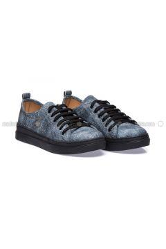 Blue - Casual - Shoes - Ayakkabı Havuzu(110322073)