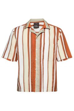 Hilmer Reg Shirt Wash Hemd Casual Orange OSCAR JACOBSON(119950264)