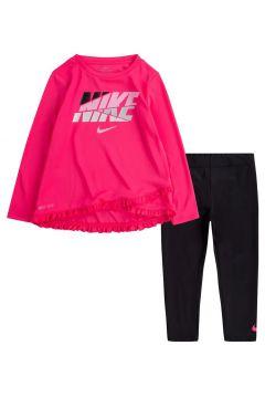 Nike Crossover Tunıc Leggıng Set Çocuk Eşofman Takımı Pembe(127364340)