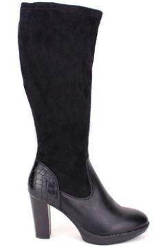 Bottes Cendriyon Bottes Noir Chaussures Femme(115424997)