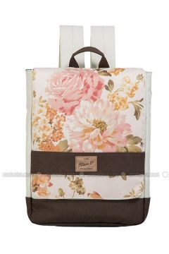 Cream - Backpacks - Fudela(110321085)