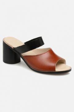 SALE -40 Deux Souliers - Basic Sandal #1 - SALE Clogs & Pantoletten für Damen / braun(111575114)