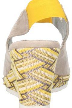 Sandales Mary Collection sandales beige daim jaune textile AF773(115395280)