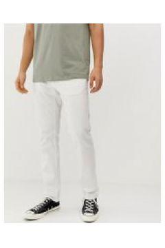 Esprit - Pantaloni 5 tasche slim crema - Crema(92911107)