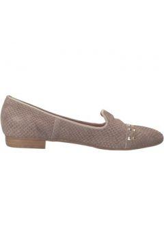 Chaussures Carmens Padova mocassins gris cuir python AF36(115393358)