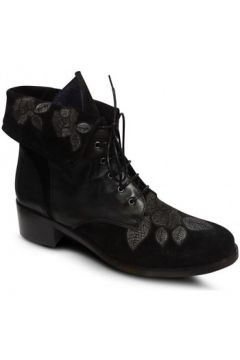 Bottines PintoDiBlu Boots plates Noir(115574177)