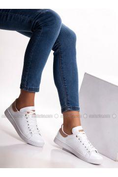 White - Powder - Sport - Sports Shoes - MODA AYAKKABI(110315416)