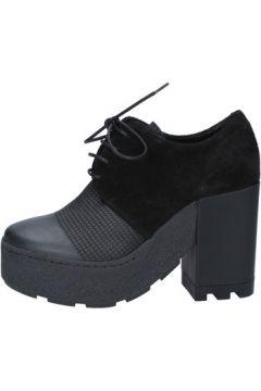 Boots Vic bottines noir daim cuir BY953(115401730)