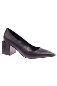 NO NAME Le Scarpe 087 Kadın Sivri Burun Parmak Dekolteli Takoz Topuk Ayakkabı 20y(117475089)