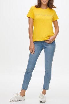 Dkny Jeans Logolu Kısa Kollu T-Shirt(124438268)