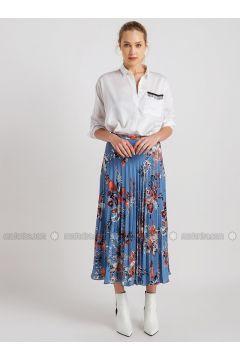 Blue - Multi - Skirt - NG Style(110341176)